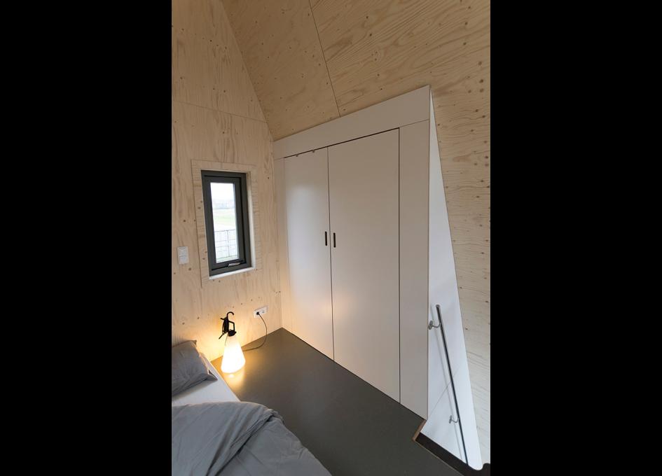 Tiny-A-slaapkamer